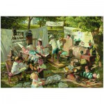 Puzzle  Eurographics-8000-0444 Bob Byerley - Kinder Lebenserinnerungen - Das Krankenhaus