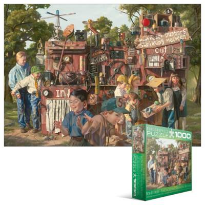 Puzzle Eurographics-8000-0445 Die Schrumpfmaschine