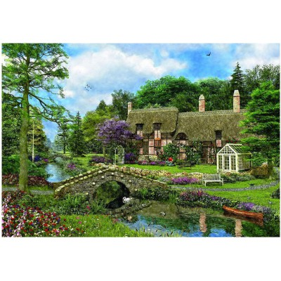 Puzzle Eurographics-8000-0457 Cobble Walk Cottage