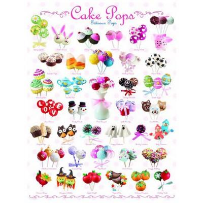 Puzzle Eurographics-8000-0518 Cake pops