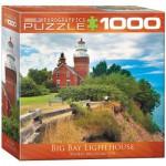 Puzzle  Eurographics-8000-0551 Leuchtturm an der Küste