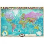 Puzzle  Eurographics-8000-0557 Weltkarte