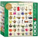 Puzzle  Eurographics-8000-0599 Teekannen