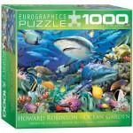 Puzzle  Eurographics-8000-0628 Howard Robinson: Ozeangarten