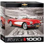Puzzle  Eurographics-8000-0665 1959 Corvette - Driving Down Route 66