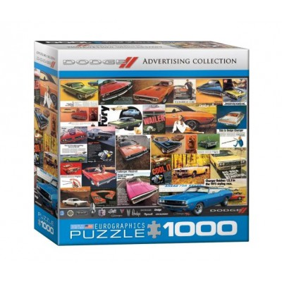 Puzzle Eurographics-8000-0760 Vintage Dodge