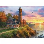 Puzzle  Eurographics-8000-0965 Dominic Davison - The Old Lighthouse