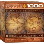 Puzzle  Eurographics-8000-1084 Antike Karte