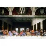 Puzzle  Eurographics-8000-1320 Leonard de Vinci: Das Letzte Abendmahl