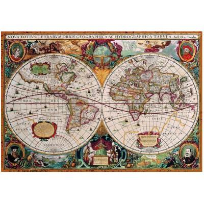 Puzzle Eurographics-8000-1997 Antike Weltkarte