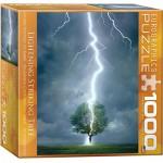 Puzzle  Eurographics-8000-4570 Blitzeinschlag