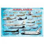 Puzzle  Eurographics-8100-0086 Flugzeuge