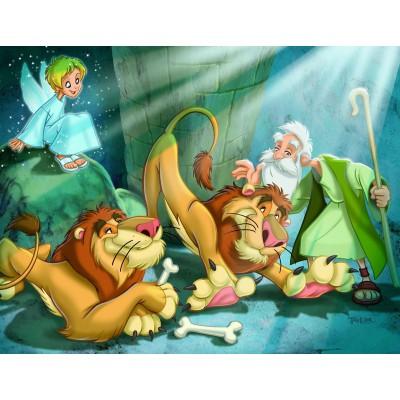 Puzzle Eurographics-8100-0349 Daniel und die Löwen