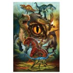 Puzzle  Eurographics-8100-0359 Fleischfressenden Dinosaurier