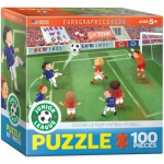 Puzzle  Eurographics-8100-0483 Junior League - Soccer