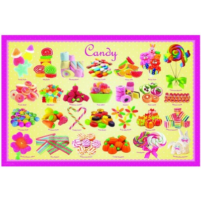 Puzzle Eurographics-8100-0521 Bonbons
