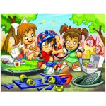 Puzzle  Eurographics-8100-0570 Girl Power - Die Doktorin