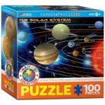 Puzzle  Eurographics-8100-1009 Das Sonnensystem