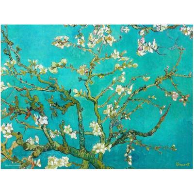 Puzzle Eurographics-8104-0153 Van Gogh: Blühende Mandelbaumzweig