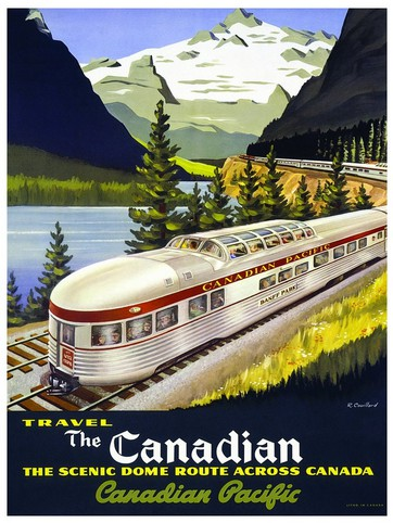 Puzzle Eurographics-8104-0322 Canadian Pacific Rail