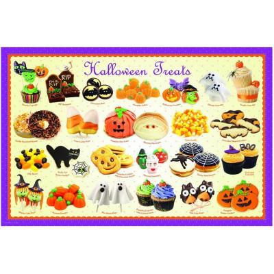 Puzzle Eurographics-8104-0432 Halloween Bonbons