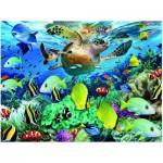 Puzzle  Eurographics-8104-0626 Die Reise der Meeresschildkröte