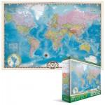 Puzzle  Eurographics-8220-0557 Weltkarte
