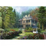 Eurographics-8300-0970 XXL Teile - Family Puzzle: Dominic Davison - Longfellow House