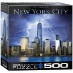 Puzzle  Eurographics-8500-0731 XXL Teile - New York City - World Trade Center