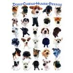 Puzzle  Eurographics-8500-1510 Hunde