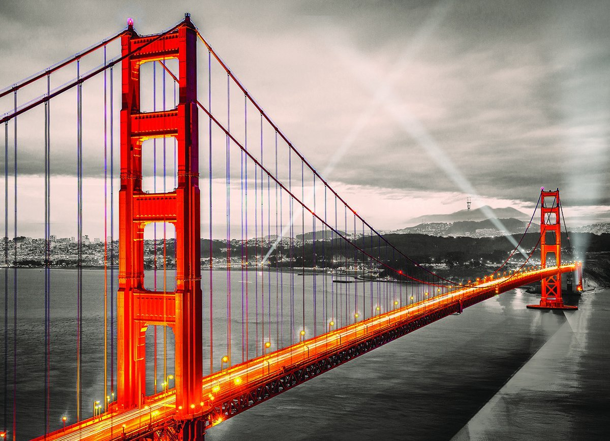 San Francisco Golden Gate Bridge 1000 Teile