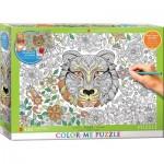 Puzzle   XXL Color Me - Tiger