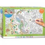 Puzzle   XXL Color Me - Tropical Birds