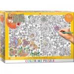 Puzzle   XXL Color Me - Versteckt Schmetterlinge