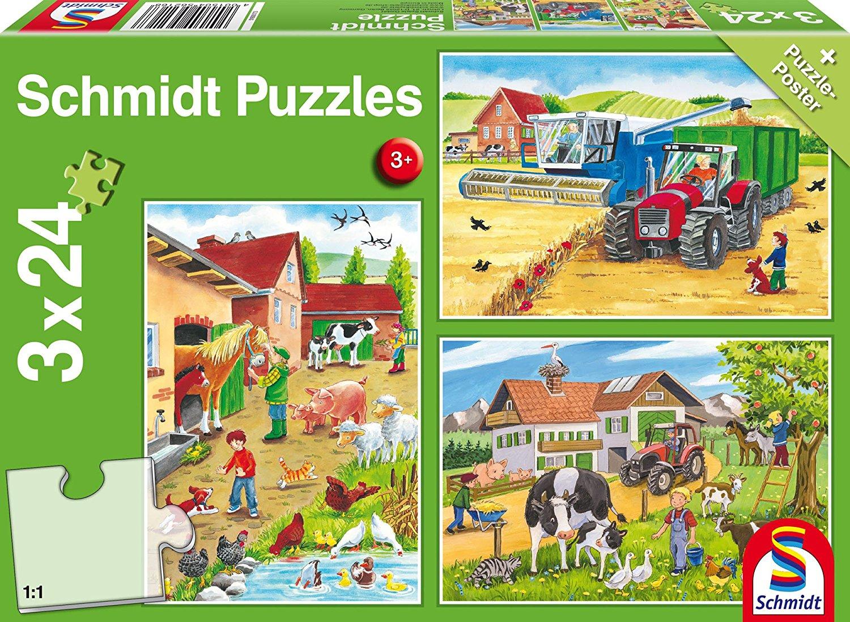 bauernhof puzzle