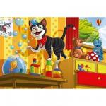 Puzzle  Schmidt-Spiele-55014 Schmidts Katze