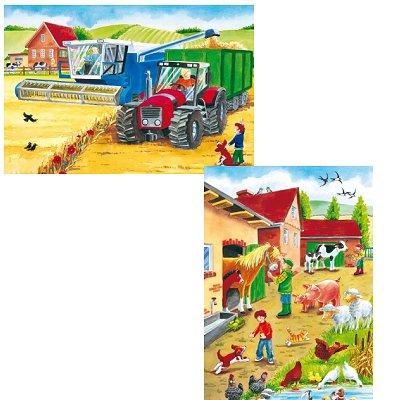 Puzzle Schmidt-Spiele-55051 Auf dem Bauernhof