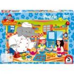 Puzzle  Schmidt-Spiele-55101 Benjamin als Bäcker