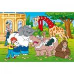 Puzzle  Schmidt-Spiele-55541 Benjamin Blümchen: Benjamin als Tierarzt