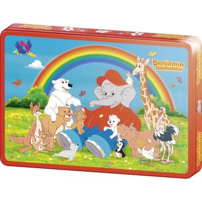 Puzzle Schmidt-Spiele-55542 Benjamin Blümchen: Gruppenbild