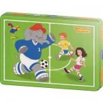 Puzzle  Schmidt-Spiele-55545 Benjamin Blümchen: Anpfiff!