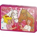 Puzzle  Schmidt-Spiele-55551 Bibi und Tina: Echte Freunde