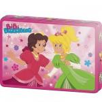 Puzzle  Schmidt-Spiele-55552 Bibi Blocksberg: Bibi als Prinzessin