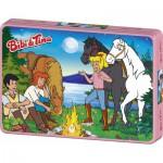 Puzzle  Schmidt-Spiele-55580 Bibi und Tina: Abenteuer