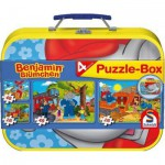 Schmidt-Spiele-55594 2 x 48 Teile Puzzle - Benjamin Blümchen
