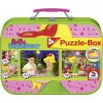 Schmidt-Spiele-55595 Puzzle-Box im Metallkoffer