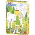 Puzzle  Schmidt-Spiele-55889 Bibi und das Einhorn