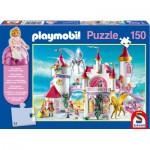 Puzzle  Schmidt-Spiele-56041 Im Prinzessinnenschloss