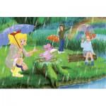 Puzzle  Schmidt-Spiele-56046 Bibi und Tina: Unterm Regenbogen