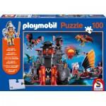 Puzzle  Schmidt-Spiele-56074 Playmobil: Asia-Drachenland